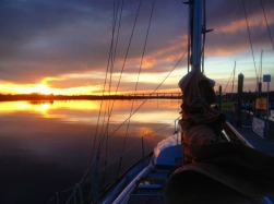 The Oak Island, NC, bridge