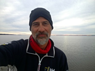 At anchor at Dog Hammock Spit in Georgia